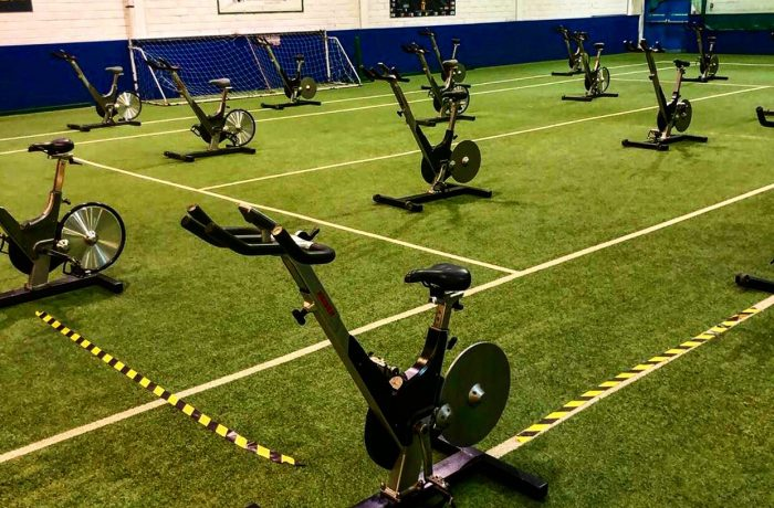 Spin Classes on the Tennis Court